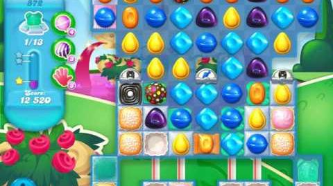 Candy Crush Soda Saga Level 872 (2nd nerfed)