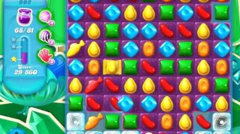 Candy Crush Soda Saga Level 992 (4th version)