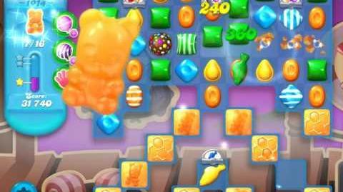 Candy Crush Soda Saga Level 1014 (buffed)