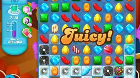 Candy Crush Soda Saga Level 1168 (5th version)