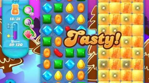 Candy Crush Soda Saga Level 648 (2nd nerfed)