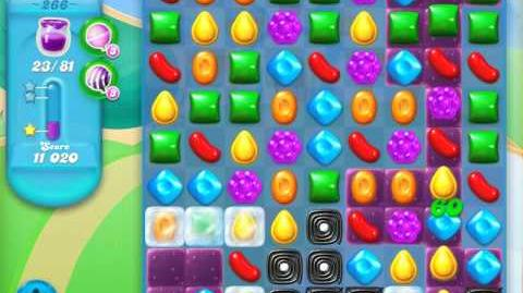 Candy Crush Soda Saga Level 266 (2nd version, 3 Stars)