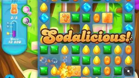 Candy Crush Soda Saga Level 591 (3 Stars)