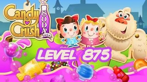Candy Crush Soda Saga Level 875