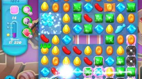 Candy Crush Soda Saga Level 1024 (5th version, 3 Stars)