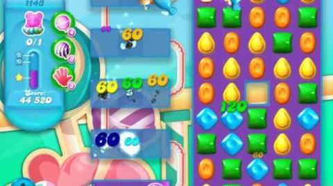 Candy Crush Soda Saga Level 1143 (4th version, 3 Stars)