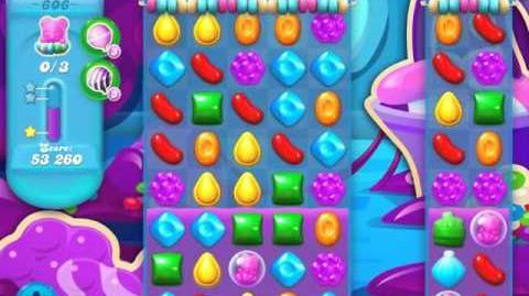 Candy Crush Soda Saga Level 606 (3 Stars)