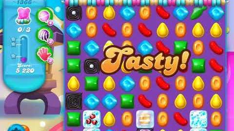 Candy Crush Soda Saga Level 1366 (4th version)