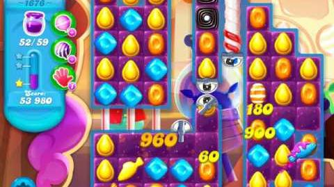 Candy Crush Soda Saga Level 1676 (3 Stars)