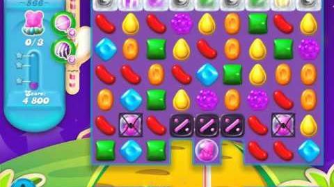 Candy Crush Soda Saga Level 566 (3 Stars)