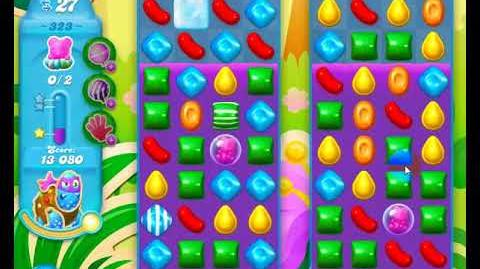 Candy Crush Friends Group SODA Level 323 2Stars Update 291017