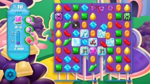 Candy Crush Soda Saga Level 886 (3 Stars)