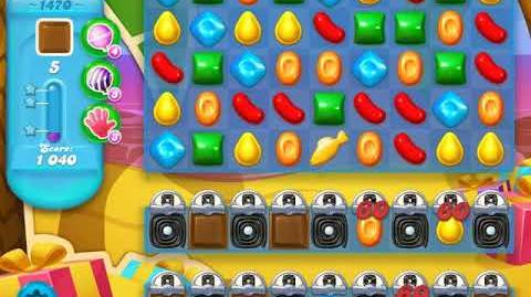 Candy Crush Soda Saga Level 1470 (buffed, 3 Stars)