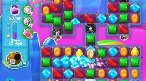 Candy Crush Soda Saga Level 461 (nerfed, 3 Stars)