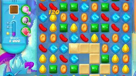 Candy Crush Soda Saga Level 121 (2nd version, 3 Stars)