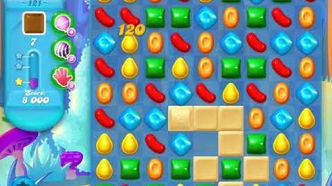 Candy Crush Soda Saga Level 121 (2nd version, 3 Stars)