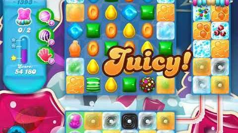 Candy Crush Soda Saga Level 1393 (6th version, 3 Stars)