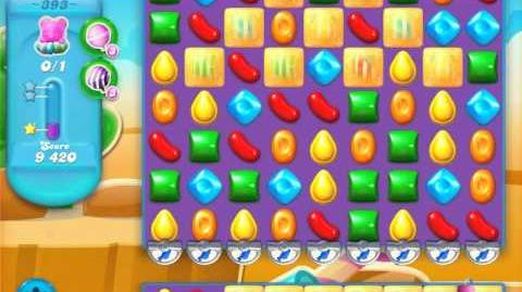Candy Crush Soda Saga Level 393 (3 Stars)