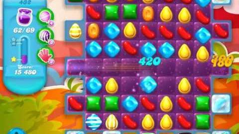 Candy Crush Soda Saga Level 432 (7th version)