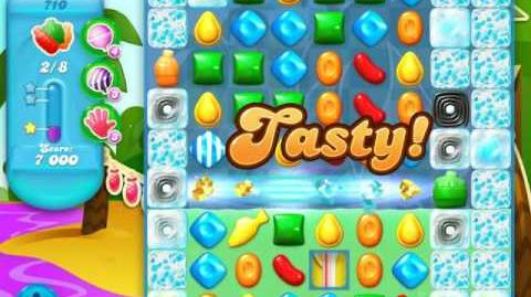 Candy Crush Soda Saga Level 710 (nerfed)