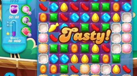 Candy Crush Soda Saga Level 1236 (4th version, 3 Stars)