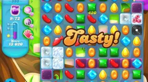 Candy Crush Soda Saga Level 595 (2nd nerfed, 3 Stars)