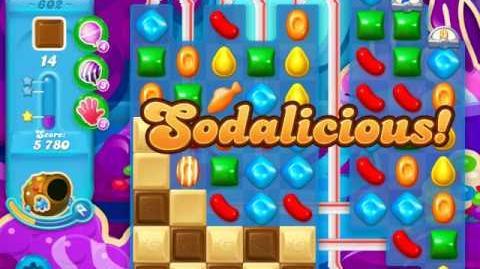 Candy Crush Soda Saga Level 602 (2nd buffed, 3 Stars)
