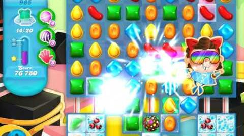 Candy Crush Soda Saga Level 985 (4th version)