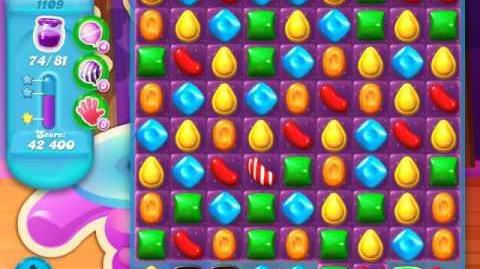 Candy Crush Soda Saga Level 1109 (8th version, 3 Stars)
