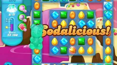 Candy Crush Soda Saga Level 1272 (3 Stars)
