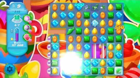 Candy Crush Soda Saga Level 846 (3 Stars)