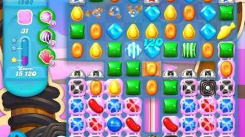 Candy Crush Soda Saga Level 1202 (buffed, 3 Stars)