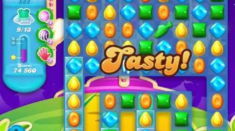 Candy Crush Soda Saga Level 582 (4th version)