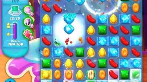 Candy Crush Soda Saga Level 1112 (6th version, 3 Stars)