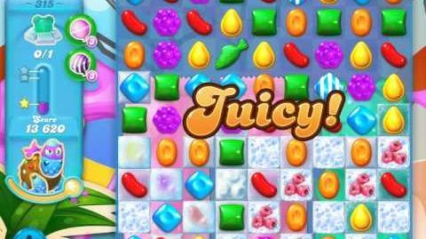 Candy Crush Soda Saga Level 315 (nerfed, 3 Stars)