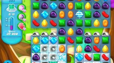 Candy Crush Soda Saga Level 604 (nerfed)