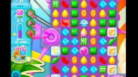 Candy Crush Friends Group Soda Level 305 NO BOOSTERS 2Stars