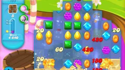 Candy Crush Soda Saga Level 133 (3rd version, 3 Stars)