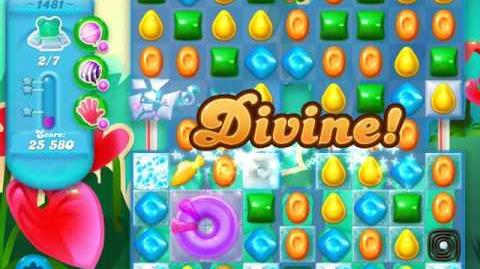 Candy Crush Soda Saga Level 1481 (3 Stars)