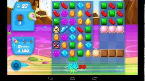 Candy Crush Soda Saga Level 43 - 3 Star Walkthrough