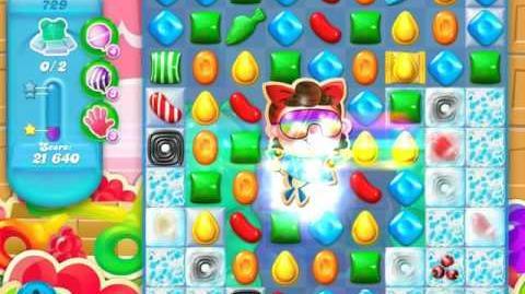 Candy Crush Soda Saga Level 729 (5th version, 3 Stars)
