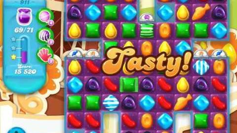 Candy Crush Soda Saga Level 911 (3 Stars)