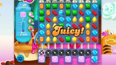 CANDY CRUSH SODA Saga Level 1873-1874-1875 ★★★