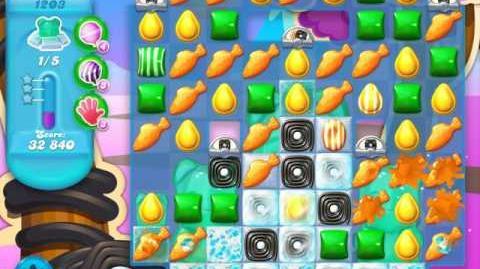Candy Crush Soda Saga Level 1203 (10th version, 3 Stars)
