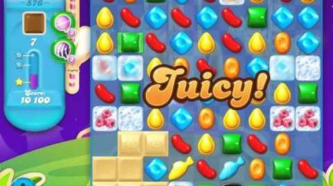 Candy Crush Soda Saga Level 576 (3 Stars)