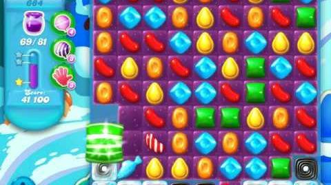 Candy Crush Soda Saga Level 684 (5th version, 3 Stars)