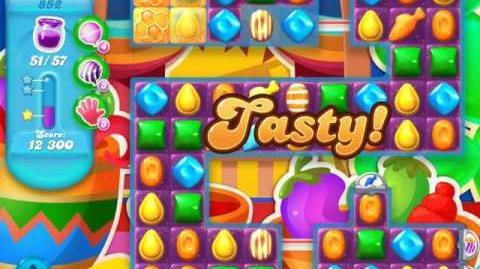 Candy Crush Soda Saga Level 852 (2nd buffed, 3 Stars)