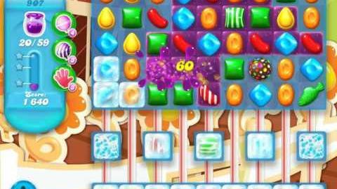 Candy Crush Soda Saga Level 907 (nerfed)