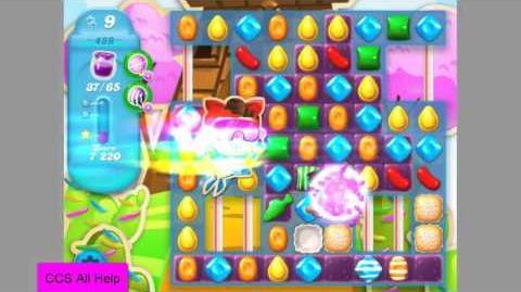Candy Crush Soda Saga Level 489 NEW jam No Boosters