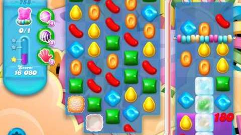 Candy Crush Soda Saga Level 758 (2nd buffed)